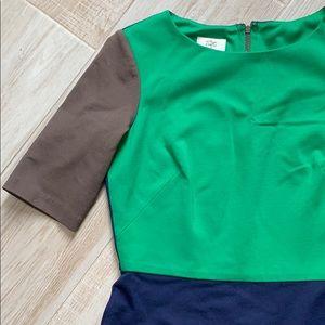 Suzi Chin for Maggy Boutique Colorblock Ponte